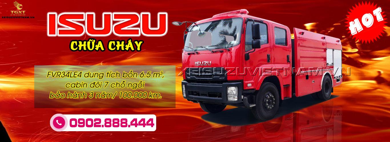 Xe bồn xăng dầu Isuzu FVZ34QE4 20 khối