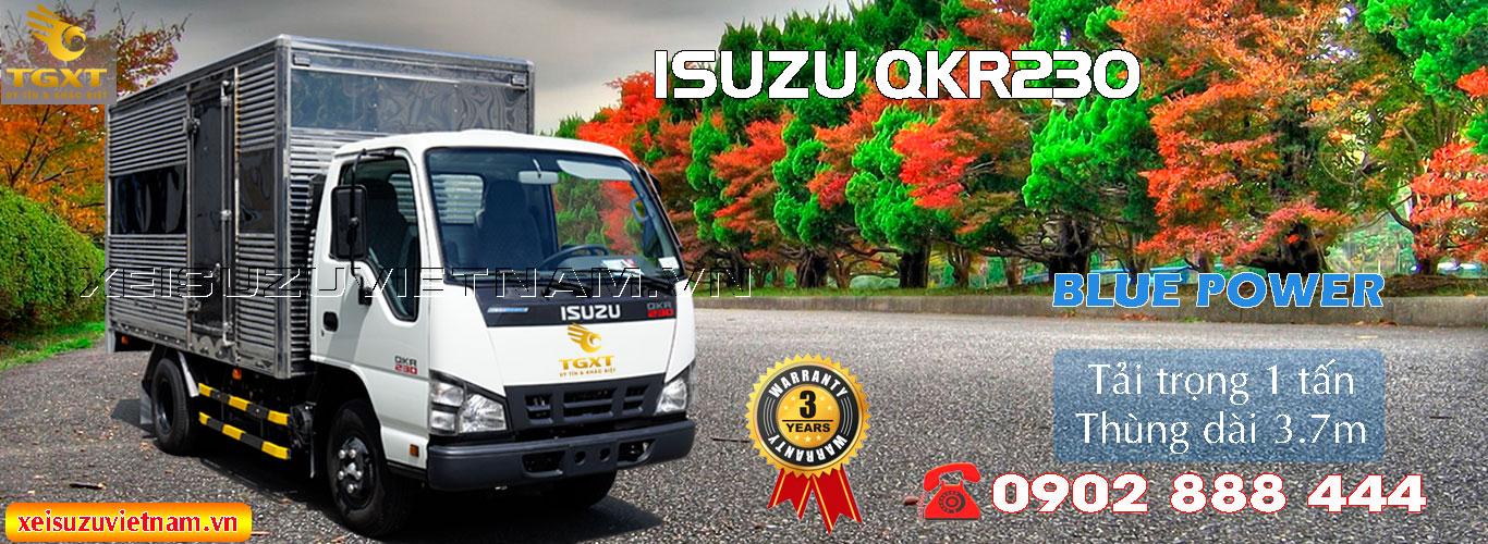 Xe tải Isuzu 1 tấn thùng kín QKR77FE4
