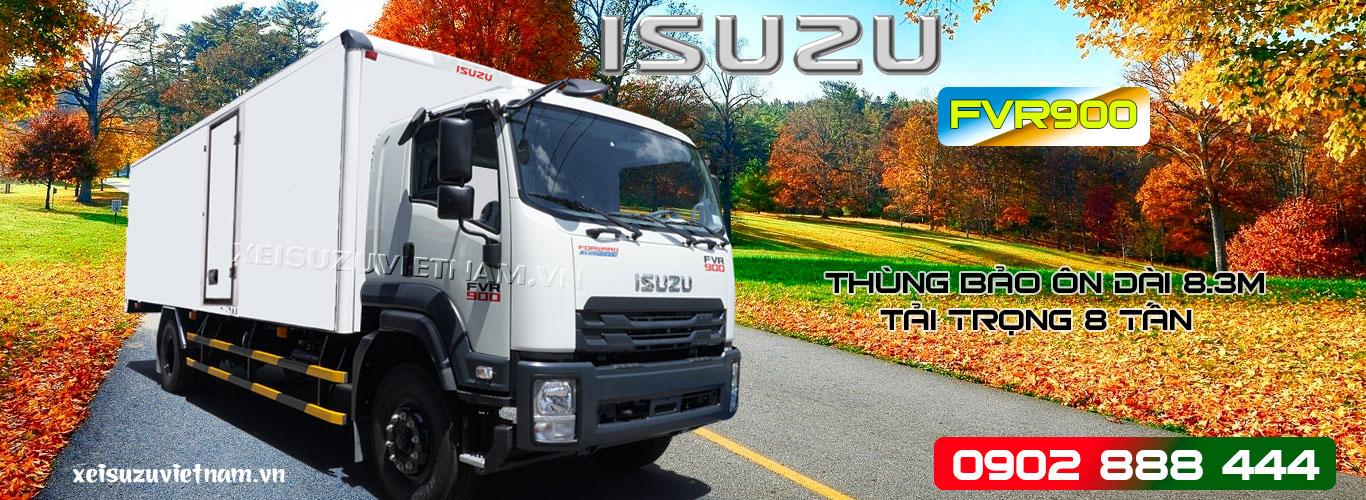Xe tải Isuzu 8 tấn thùng bảo ôn - FVR34SE4