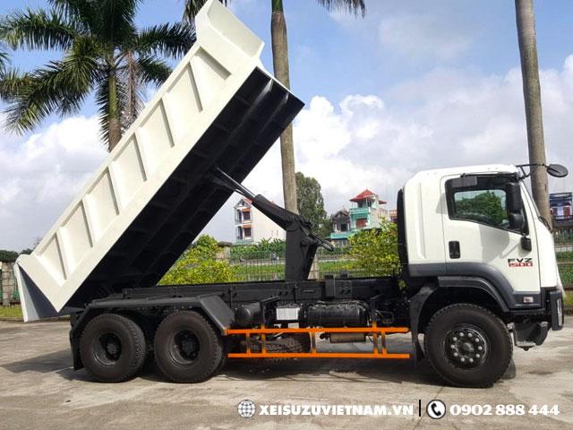 Cần bán xe ben Isuzu 13 tấn FVZ34QE4 trả góp lãi suất cực ưu đãi Xe-ben-Isuzu-FVZ34QE4-h3
