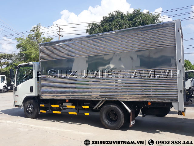 Xe tải Isuzu 1T9 thùng kín - NMR85HE4 giá rẻ - Xeisuzuvietnam.vn