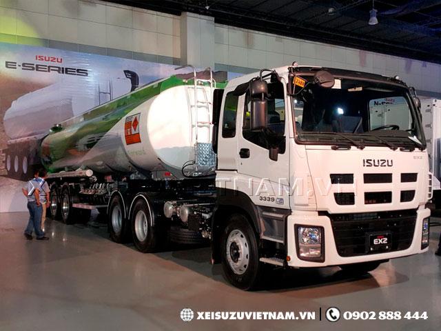 Xe đầu kéo Isuzu EXZ 2 cầu 390Ps màu trắng có sẵn - Xeisuzuvietnam.vn