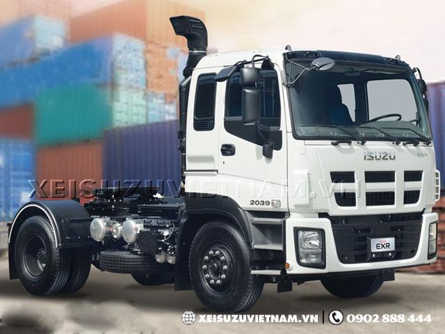 Xe đầu kéo Isuzu EXR 1 cầu 35 tấn trả góp 85% - Xeisuzuvietnam.vn