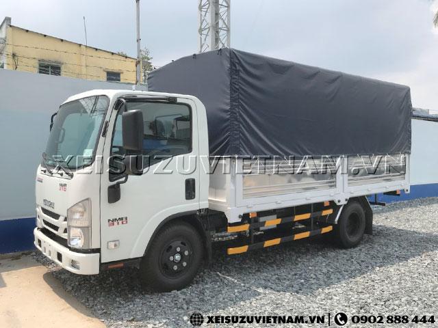 Xe tải Isuzu 1T9 thùng bạt NMR85HE4 có sẵn - Xeisuzuvietnam.vn