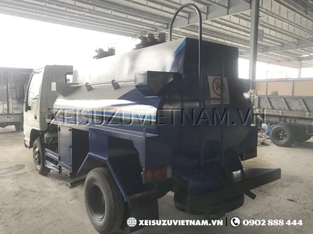 Xe bồn xăng dầu Isuzu QKR77FE4 3 khối giá rẻ - Xeisuzuvietnam.vn
