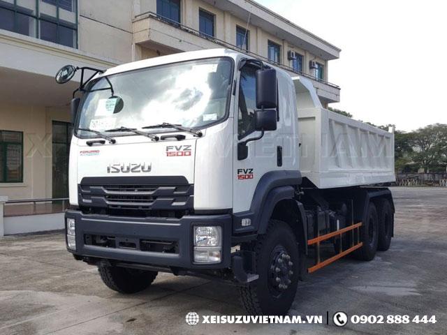 Xe ben Isuzu FVZ34QE4 khuyến mãi lớn - Xeisuzuvietnam.vn