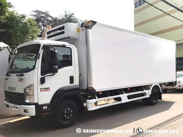 Xe đông lạnh Isuzu 6 tấn - FRR90LE4 giá ưu đãi - Xeisuzuvietnam.vn
