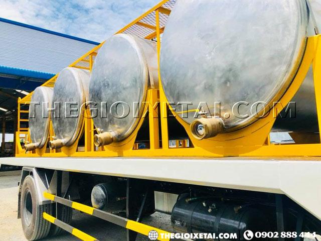 Bán xe bồn chở mủ cao su Isuzu FVR34QE4 8 khối - Xeisuzuvietnam.vn