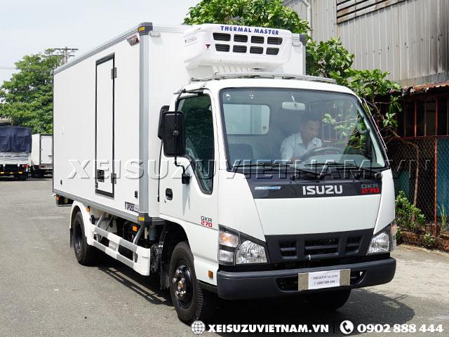 Xe đông lạnh Isuzu 2T5 - QKR77HE4 chính hãng - Xeisuzuvietnam.vn