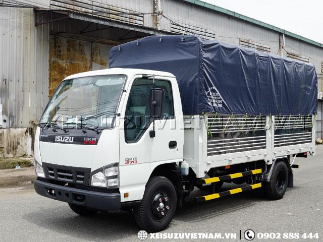 Xe tải Isuzu 1T9 mui bạt QKR77HE4 giá cực sốc  - Xeisuzuvietnam.vn