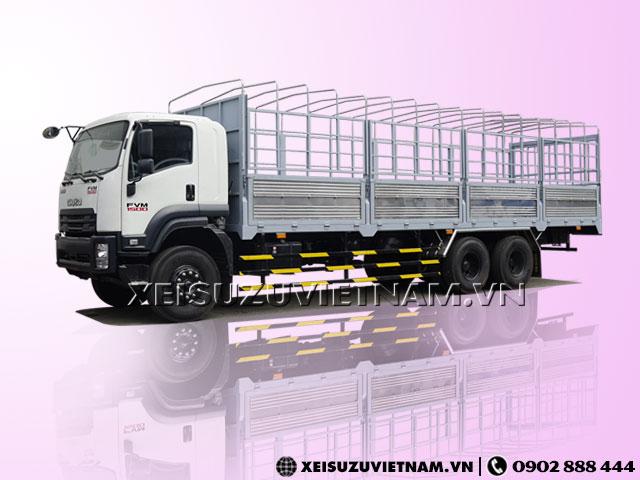 Xe tải Isuzu 14T5 mui bạt FVM34WE4 mới 100% - Xeisuzuvietnam.vn