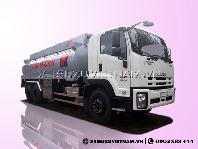 Xe Bồn Chở Xăng Isuzu 20m3 - FVM34TE4
