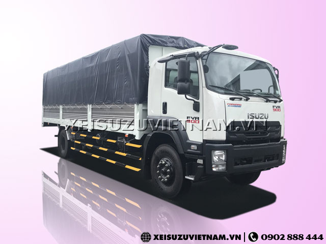 Xe Tải Isuzu 8T1 Thùng Mui Bạt - FVR34SE4