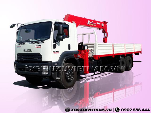Xe tải Isuzu 10 tấn gắn cẩu Unic URV805 giá rẻ - Xeisuzuvietnam.vn