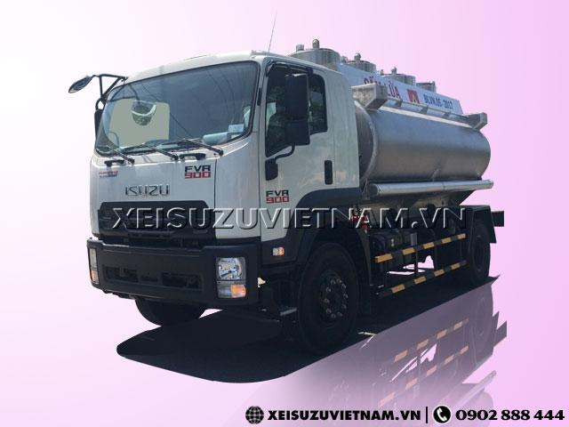 Xe Bồn Chở Xăng Isuzu 12m3 - FVR34LE4