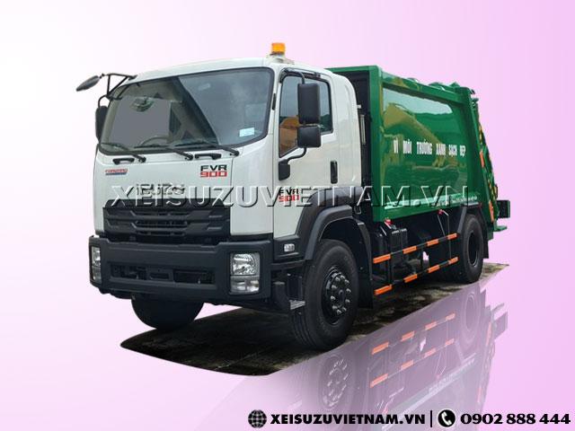 Xe ép rác Isuzu FVR34LE4 14 khối trả góp 85% - Xeisuzuvietnam.vn