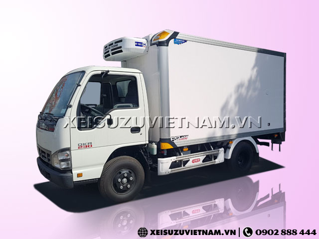 Xe Đông Lạnh Isuzu 1T95 - QKR77FE4