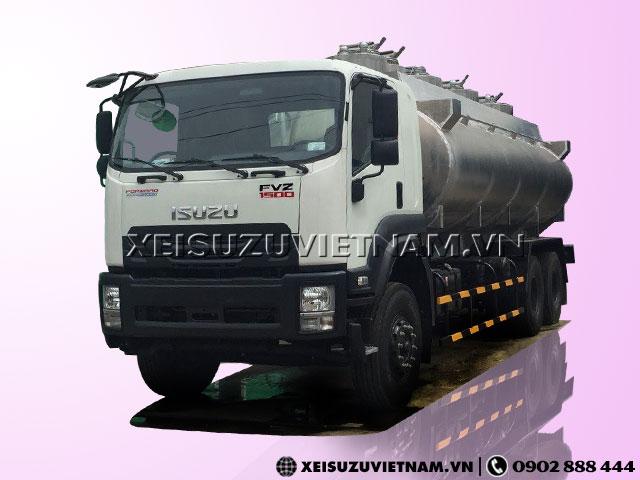 Xe bồn xăng dầu Isuzu FVZ34QE4 20 khối có sẵn - Xeisuzuvietnam.vn