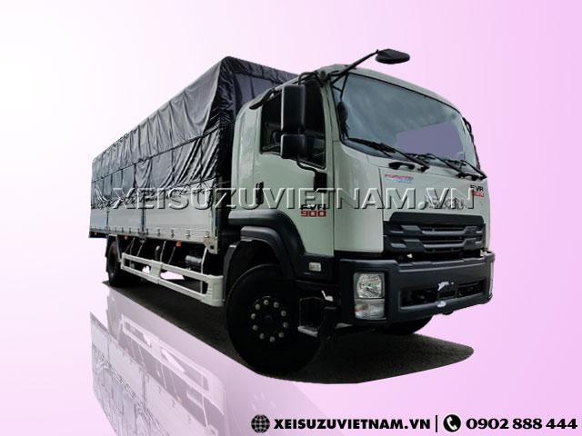 Xe tải Isuzu 8 tấn thùng bạt FVR34QE4 bán trả góp - Xeisuzuvietnam.vn