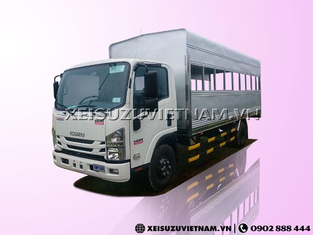 Xe Isuzu NQR75LE4 thùng tập lái khuyến mãi lớn - Xeisuzuvietnam.vn