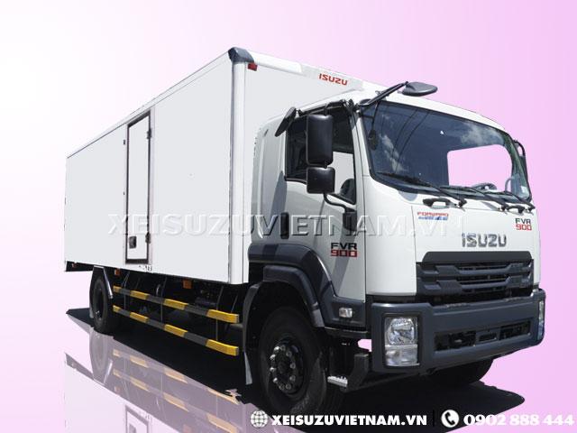 Xe tải Isuzu 8 tấn thùng bảo ôn FVR34SE4 giá rẻ - Xeisuzuvietnam.vn