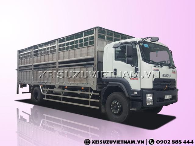 Xe Tải Isuzu 7T5 Thùng Chở Gia Súc - FVR34QE4