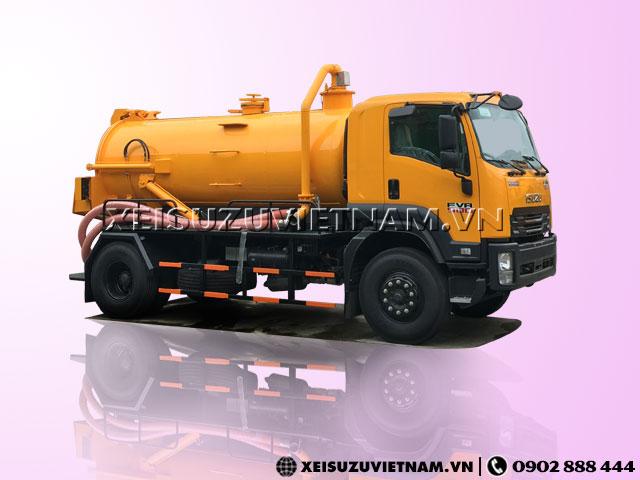 Xe hút chất thải Isuzu FVR34LE4 8 khối giá tốt - Xeisuzuvietnam.vn