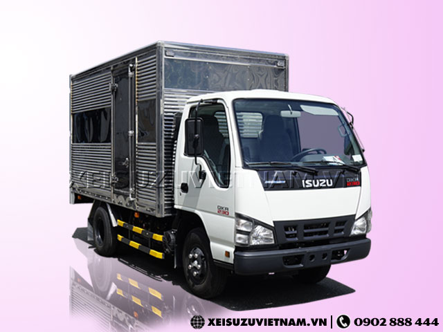 Xe tải Isuzu 1 tấn thùng kín QKR77FE4 bán trả góp - Xeisuzuvietnam.vn