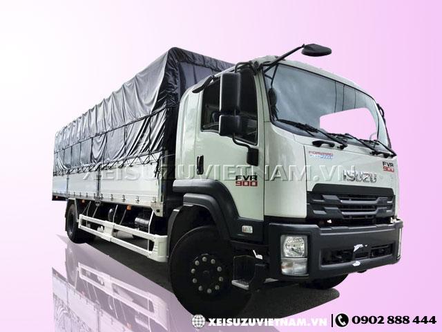 Xe tải Isuzu 8 tấn thùng bạt FVR34SE4 mới nhất - Xeisuzuvietnam.vn