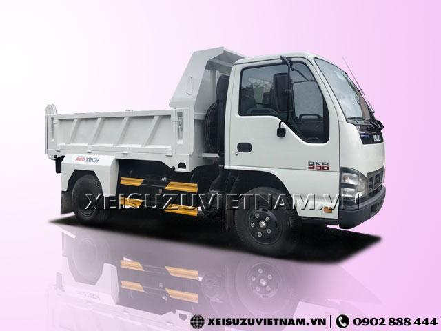 Xe ben Isuzu 1T9 2.5 khối QKR77FE4 bán trả góp - Xeisuzuvietnam.vn