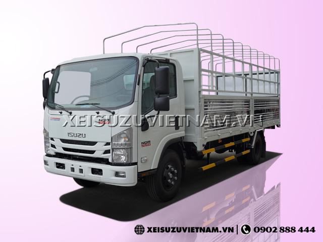 Xe Tải Isuzu 4T9 Thùng Mui Bạt - NQR75ME4