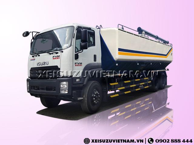 Xe bồn Isuzu FVM 24m3 chở thức ăn gia súc giá rẻ - Xeisuzuvietnam.vn